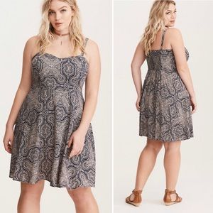 Torrid Bandana Print Challis Tank Dress
